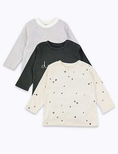 3 Pack Cotton Tops