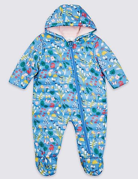 Pack-Away Puffer Snowsuit