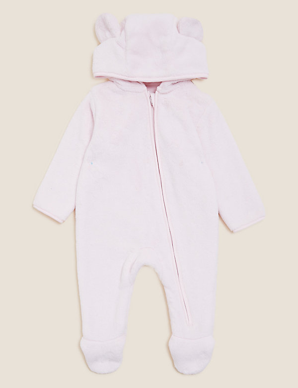 Cotton Hooded All in One (7lbs - 12 Mths)