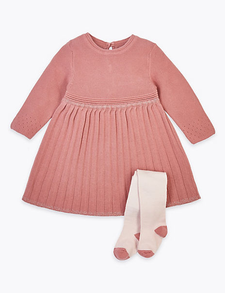 2 Piece Cotton Knitted Outfit