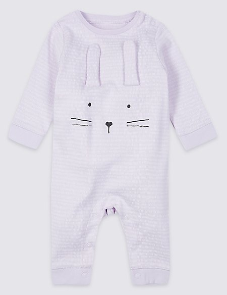 Pure Cotton Novelty Bunny All in One