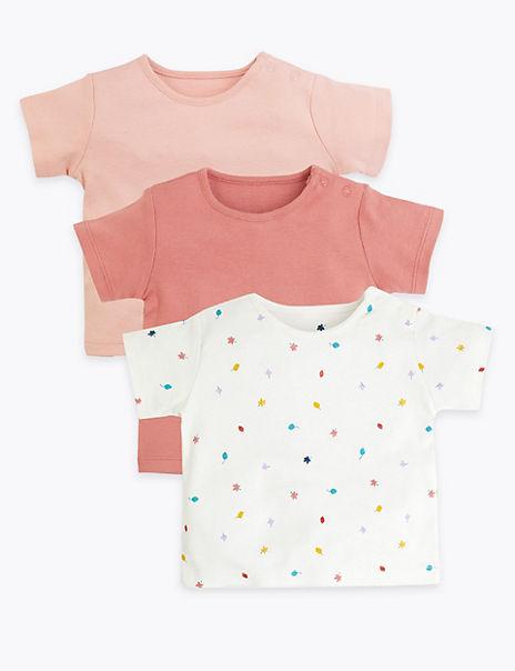 3 Pack Organic Cotton T-Shirts