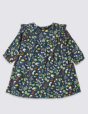 Woodland Print Dress