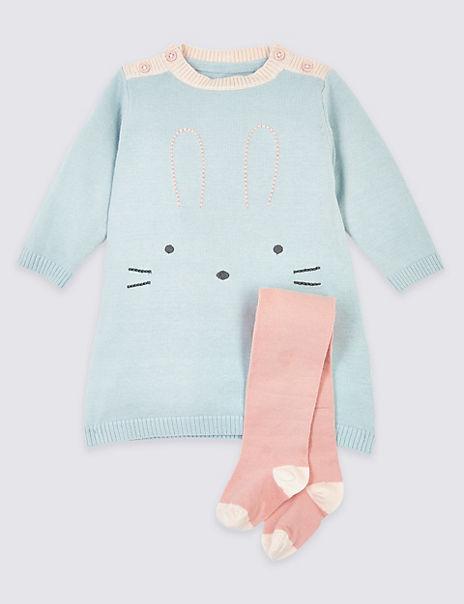 2 Piece Cotton Rabbit Outfit