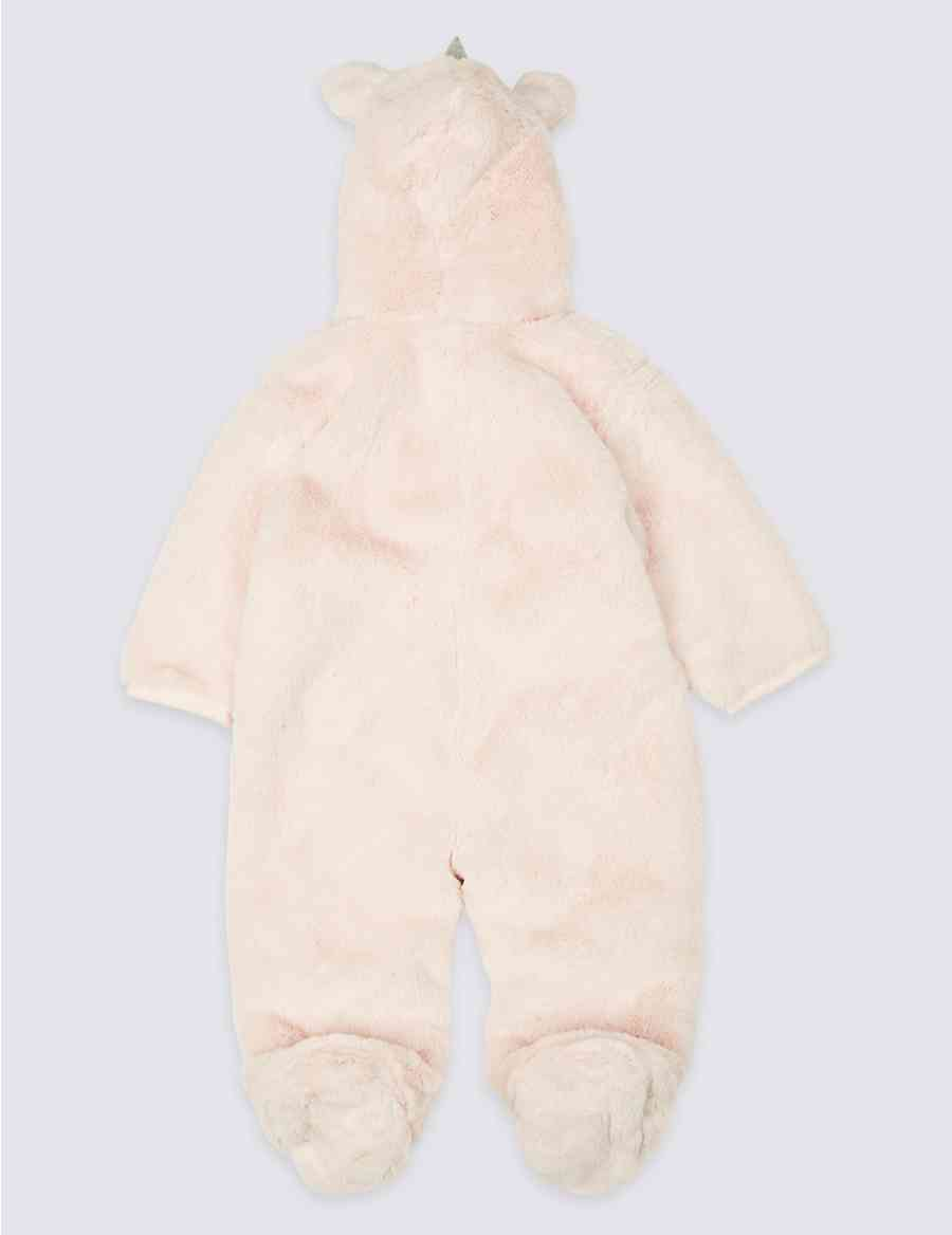 731845246 Pure Cotton Unicorn Pramsuit