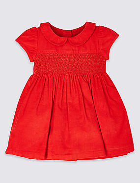 Pure Cotton Cord Dress