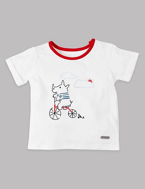 Cotton Rich Rhinoceros T-Shirt