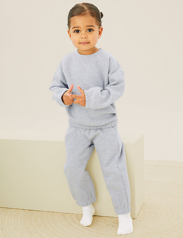 2pk Cotton Sweater Outfit (0-3 Yrs)