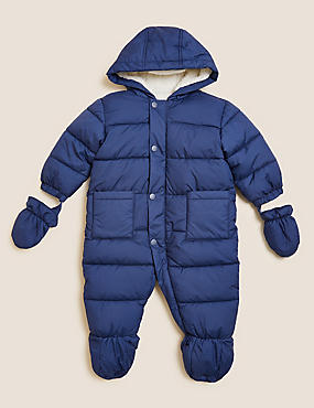 2pc Snowsuit With Mitts (0-3 Yrs)