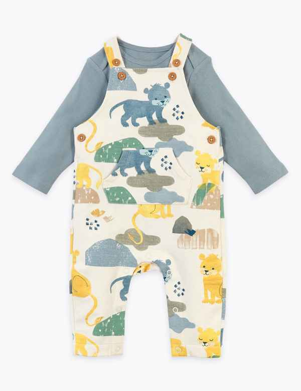 Panda 3-6 Tiger NB 0-3 6-9 /& 9-12mth Baby Boy 3 Pack Bodysuit Dinosaur
