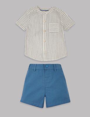 10a0126d8 2 Piece Shirt & Shorts Outfit £18.00 - £19.00