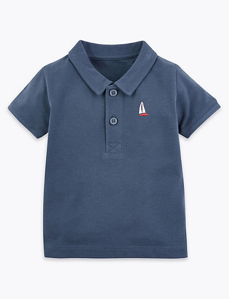 Cotton Polo Shirt (0-3 Years)