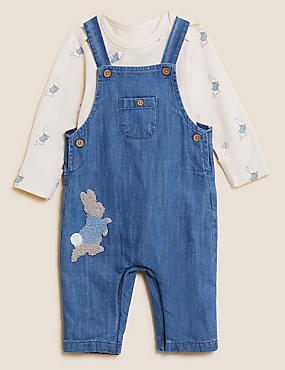 2pc Pure Cotton Peter Rabbit™ Outfit (0-3 Yrs)