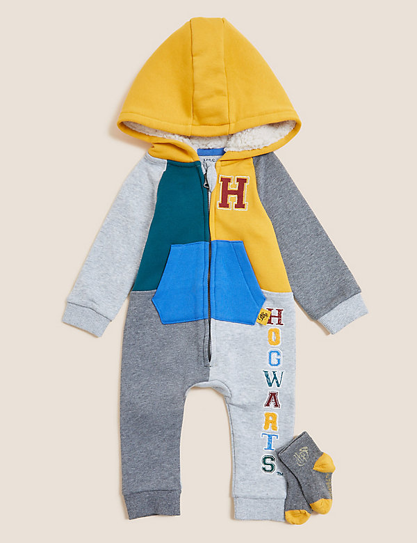 Harry Potter™ Cotton Hooded Outfit (0-3 Yrs)
