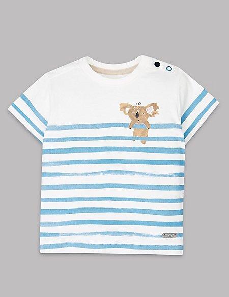 Koala Striped T-Shirt