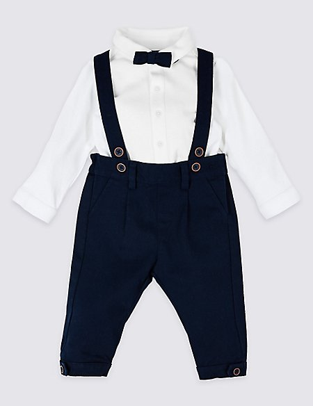 d03aebf3566c 3 Piece Shirt   Trousers with Braces