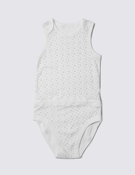 Unisex Pure Cotton Bodysuit (3-8 Years)