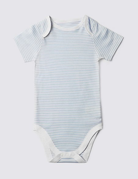 Stripe Short Sleeve Bodysuit (3-8 Years)