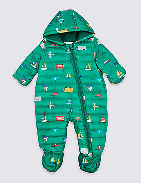 Transport Print Pack Away Snowsuit