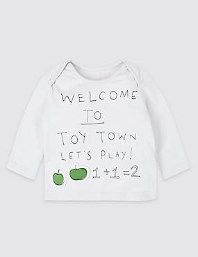 Pure Cotton Toy Town Top