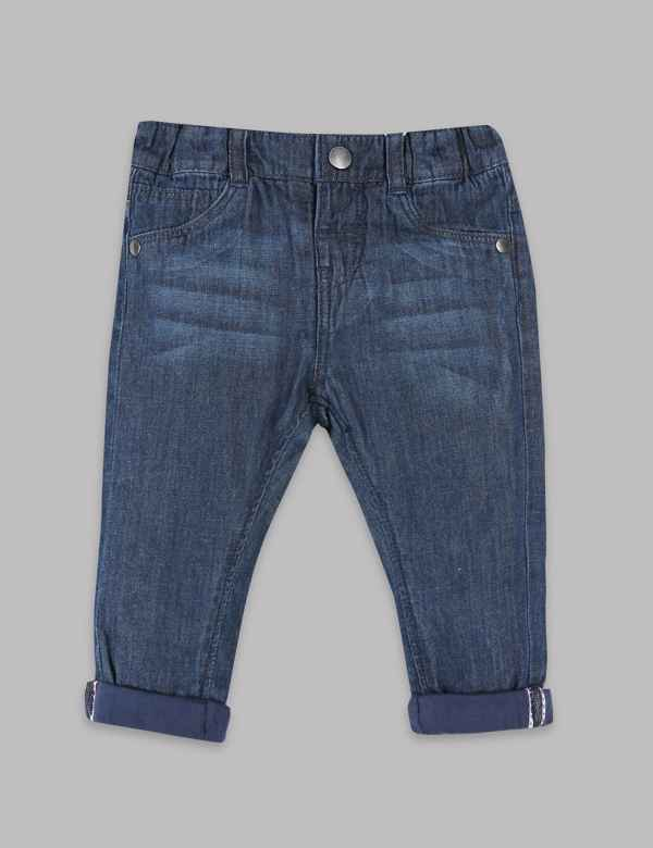 Pure Cotton Jeans. New