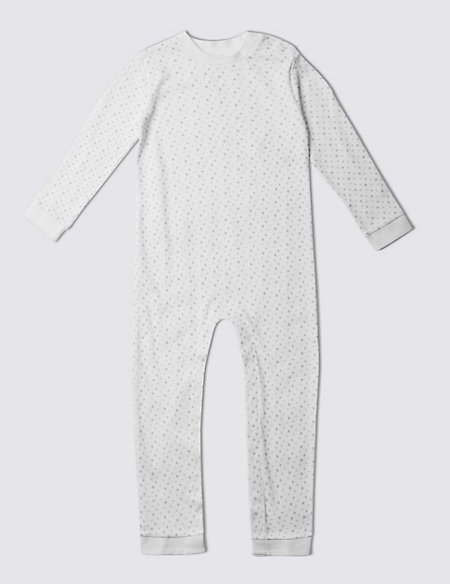 Unisex Pure Cotton Sleepsuit (3-8 Years)