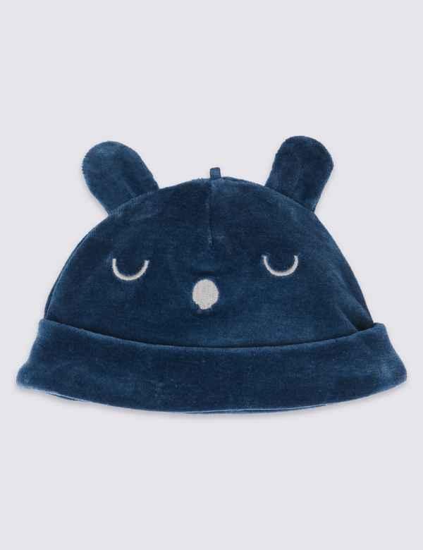 2d2bb2fd817 Cotton Rich Velour Hat