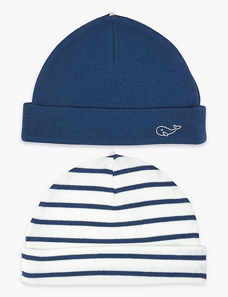 2 Pack Cotton Fisherman Hats