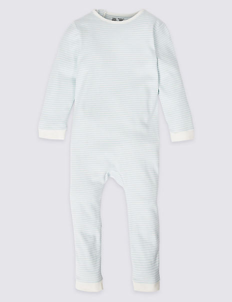 Adaptive Pure Cotton Back Zip Sleepsuit (3-16 Years)