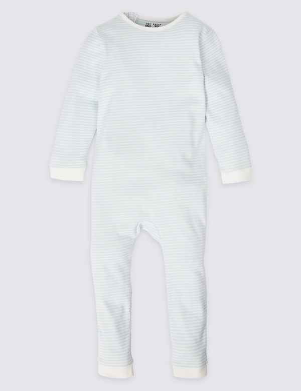 4a514e74bc2b4 Easy Dressing Pure Cotton Back Zip Opening Sleepsuit (3-16 Years)