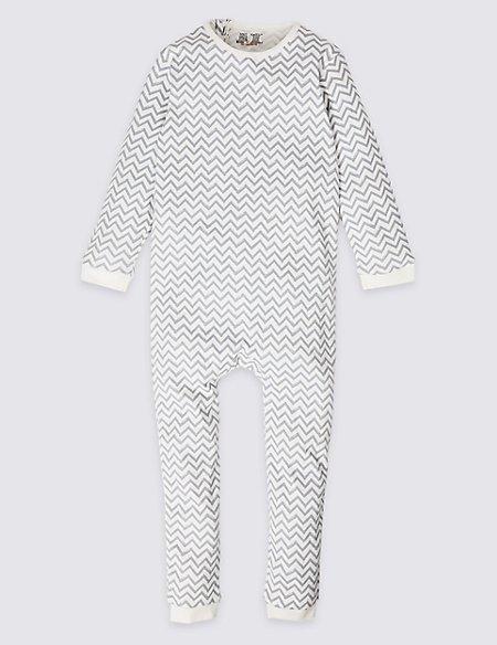 Pure Cotton Sleepsuit (3-16 Years)