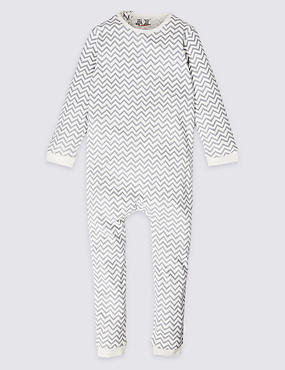 Pure Cotton Sleepsuit (3-16 Years)