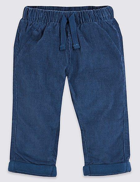 Pure Cotton Cord Trousers