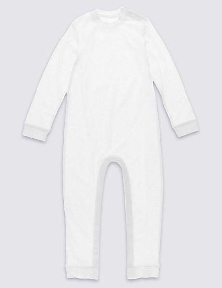 Unisex Pure Cotton Sleeping Suit (3-8 Years)