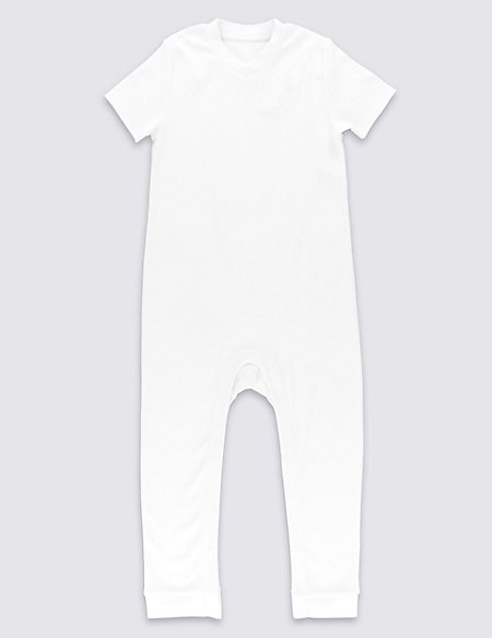 Unisex Pure Cotton Sleepsuit (3-8 Years)