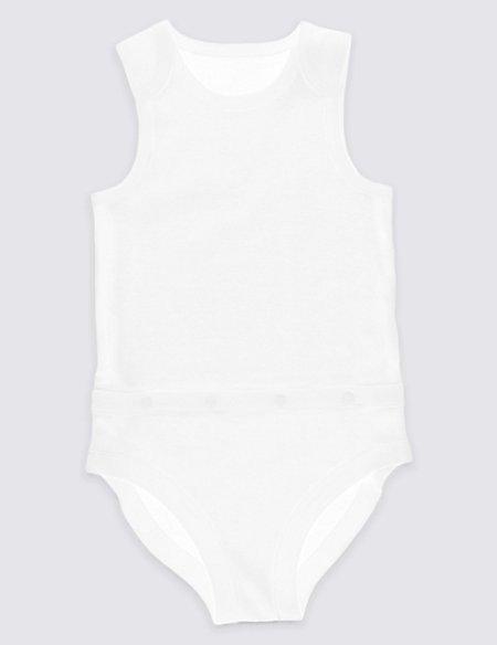 Unisex Pure Cotton Bodysuit (3-8 Years)