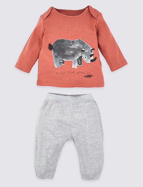 2 Piece Rhinoceros Outfit