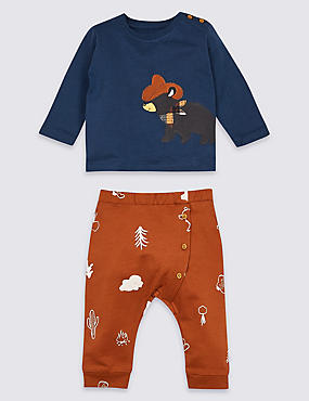 2 Piece Bear Top & Joggers