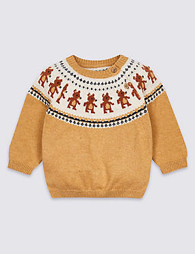 Cotton Rich Fairisle Jumper