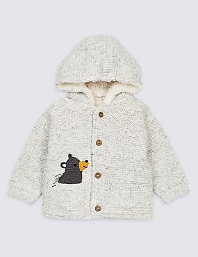 Cotton Rich Pocket Knit Cardigan