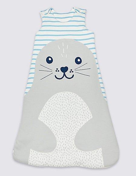 Pure Cotton 2.1 Tog Seal Sleeping Bag