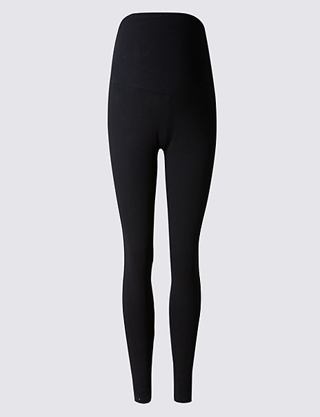 Maternity Cotton Rich Leggings with Stretch
