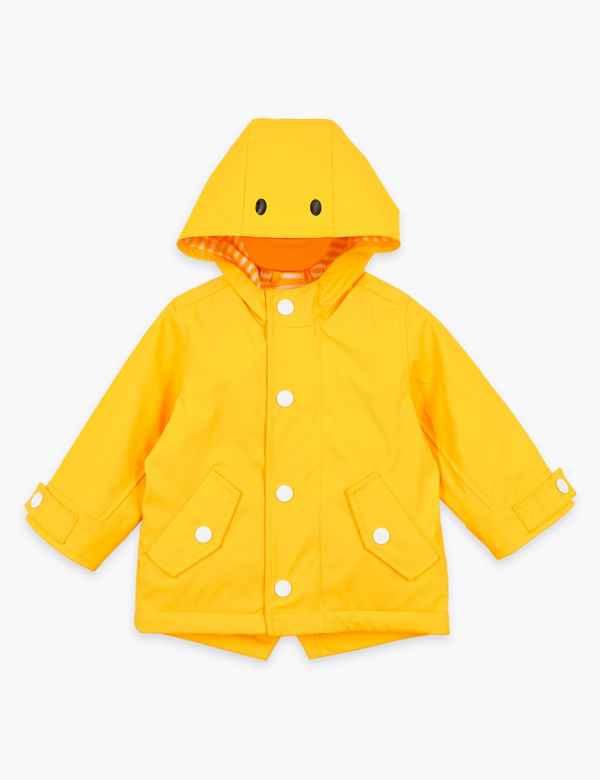clp60448467: Stormwear™ Padded Duck Fisherman Coat (0-3 Yrs)