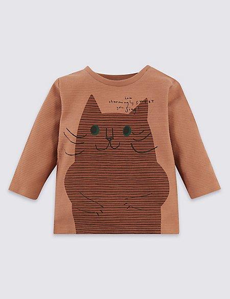 Pure Cotton Cat Top