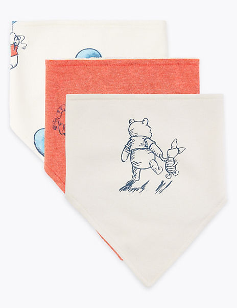 3 Pack Winnie the Pooh & Friends™ Dribble Bibs