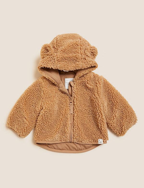 Teddy Fleece Jacket (0-3 Yrs)