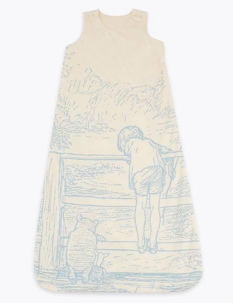 Pure Cotton Winnie the Pooh & Friends™ 1.5 Tog Sleeping Bag