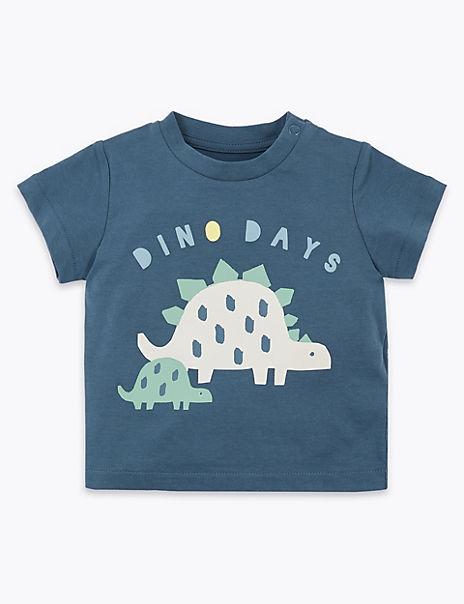 Cotton Dino T-Shirt