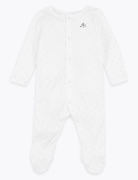 Organic Star Design Sleepsuit