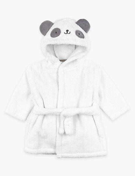 Cotton Panda Hooded Robe